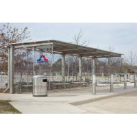 Quality Customized Size Stainless Steel Bus Stop Water Proof Environmental Protection for sale
