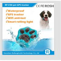 China small waterproof gps pet tracker/gps gsm gprs dog tracker rf-v30 on sale