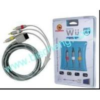 Quality Wii AV cable, Wii wireless receiver/sensor bar for sale