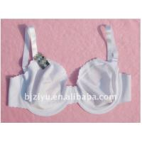 Quality Polyester / Nylon OEM ODM K Cup White Ladies Hand Wash Padded Plus Size Convertible Bra for sale