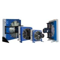 Quality Electrical Fan Hydraulic Oil Heat Exchanger , Aluminum Radiator for sale
