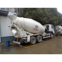 Quality 9 Cubic Meters Concrete Mixer Truck , Sinotruk Howo 336hp Ready Mix Cement Truck for sale