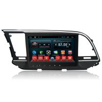 China Quad Core Android HYUNDAI DVD Player , Car Multimeida Gps Navigation For Elantra 2016 2017 on sale