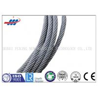 Quality High Carbon Galvanized Steel Wire Rope 7*7 For Cable Car / Belt Conveyer for sale