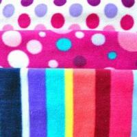 Micro Polar Fleece, Dry, Printed, Textile, Various Thickness and Printing Fabric Available