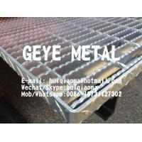 Quality Aluminium Swage-Locked Rectangular Bar Grating Serrated for Sewage/Waste Water Treatmment for sale