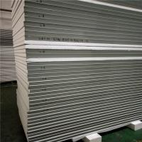 China 50mm color steel exterior EPS sandwich wall panel 11900x1150mm for wall and ceiling on sale