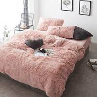 Buy cheap Solid Color Mink Velvet Bedding Sets 20 colors lambs wool Fleece Flat Sheet from wholesalers