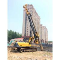 China Rotary Piling Rig For 28 m Drilling Depth 1m Dia Bored Pile Foundation 24 Ton Weight on sale