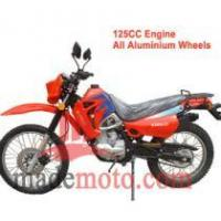 China Gas-Powered 125CC Dirt Bike with Full Aluminum Wheel Frame WZDB1251 on sale