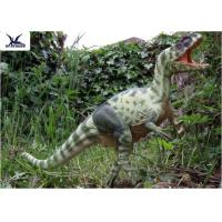 Quality Moving Realistic Dinosaur Statues Model For Dinosaur World Museum Display for sale