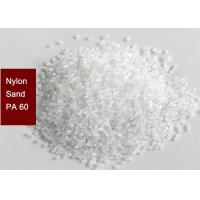 Quality Artificial Abrasive Plastic Media Blasting Nylon Sand PA60 For Surface Pre - Treatment for sale