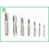 Quality 2 Flat Ends Straight Flute Tap , Fully Ground Straight Pipe TapISO529 Standard for sale