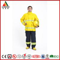 Quality Washing Flame Retardant Clothing Firefighter Turnout Gear with Nomex IIIA Material for sale