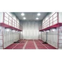Quality Manual Sand Blasting Room / Booth Heavy Duty With Screw Recycling System for sale