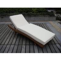 China Patio PE Rattan Lounge Chair , Modern Comfortable Chaise Lounge on sale