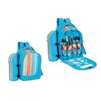 Quality Fashion Picnic cooler backpack for 4 person for sale