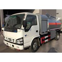 Quality ISUZU 5cbm 4*2 Fuel Delivery Tanker Oil Petrol Diesel Transport And Refueling Truck 5000L for sale