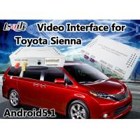Quality Android 6.0 Multimedia Video Interface for TOYOTA Sienna 2014-2017 support  360 Panoramic DVR for sale
