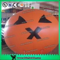Quality Advertising Inflatable Pumpkin Helium Sphere Customized for sale