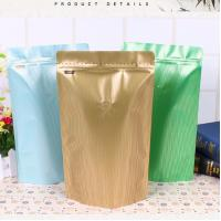 Quality Custom Printing Aluminum Foil Stand Up Pouch Valve Sealed Coffee Bags 250g / 500g for sale