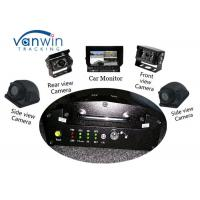 Buy cheap VPN Vehicle Tracking Video System 3G GPS Car Mobile DVR with 4 HD Cameras product