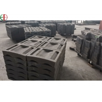 Quality AS2027 15mm Boltless High Cr Cement Mill Wave Liner Plates for sale