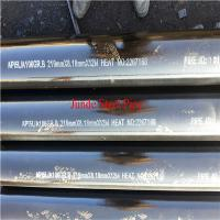 Quality ASTM A106seamlesssteelpipefor oil and gas pipeline with ISO CE API Certificate for sale
