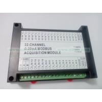 Quality 32 AI Current Acquisition Module 32AI 4-20mA 12bit RS485 Modbus optocoupler isolate for sale
