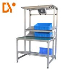 Quality Cold Welded Oxidizing sand blasting Aluminium Profile Workstation , Aluminium Work Bench Anti - Rust for sale