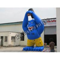 Quality Advertising And Promotion Replic Gorilla Inflatable Model For Layout And Furnishing for sale