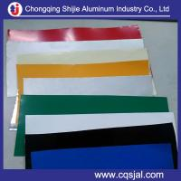 China sell color coated prepainted aluminum foil roll on sale
