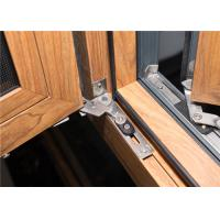 Quality Aluminum Frame Glass Windows Door Closer 1.2 Mm - 2.2 Mm Profile Thickness for sale