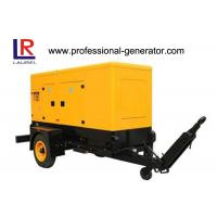 Quality 200kVA Silent Trailer Generator Set with Radiator Cooled Electrical Cummins Engine for sale