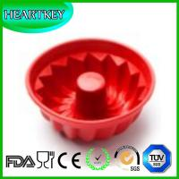China Large Bread Cake Pan Mold Silicone Flower Shape Cake Molds Chocolate Pudding Mold on sale