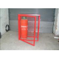 Quality Heavy Duty Gas Cylinder Cages Multi Colors Flexible / Foldable High Security for sale