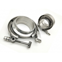 """Quality 300 Series Odm Stainless Steel Exhaust Clamps 1.5"""" - 6"""" for sale"""