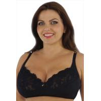 Quality Black Ladies Eco-Friendly Seamless 34B - 42E OEM ODM Sexy Padded Plus Size Convertible Bra for sale