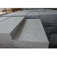 Buy cheap Flamed Surface China Bianco Grey G602 Granite Stone Tiles For Outdoor Paving from wholesalers