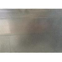 Quality DVA Single Through Round Hole Aluminum Perforated Sheet For Construction for sale