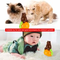 Buy Christmas Gift Cute Pet Toys , ABS Material Tumbler Cat Toy Funny Sunds Light at wholesale prices