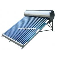 China Stainless steel covered outside image Compact Non-pressure Solar Water Heater on sale