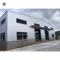 China Factory price steel structure workshop and prefabricated steel structure building or steel fabrication on sale