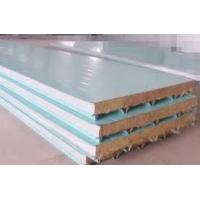 Buy cheap Color Coated Roofing Polyurethane PU Sandwich Panel Density 40kg/m3 Wall Or Floor Or Cold Storage Material product