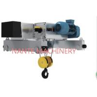 China NHA - D 5 Tons Industrial Low Headroom Electric Hoist With Wire Rope on sale