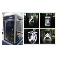Quality 800W 3D Glass Crystal Laser Engraving Machine , Sub Surface Engraving Equipment for sale