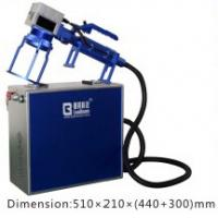 Quality Handle Fiber Laser Engraving Machine Small  /  Convenient Laser Marking Machine for sale
