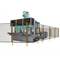Quality Working Site Robot Safety Fence , Heavy Duty Steel Wire Guard Enclosures for sale