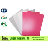 China Thermoforming PVC Plastic Sheet Natural White / 1220 x 1830mm on sale