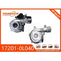 Quality TOYOTA 1KD Automotive Turbocharger , Car Turbo Charger CT16 17201-0L040 for sale